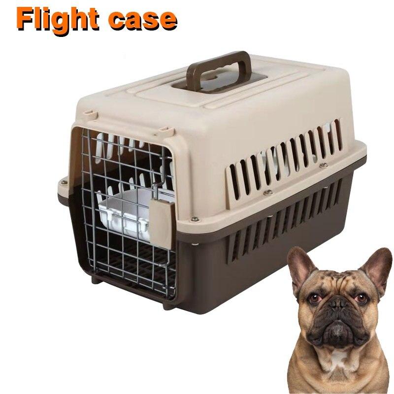 Воздушная Транспортная коробка для щенков, собак, воздухопроницаемая переноска для кошек и маленьких собак, клетка для кошек WLYANG