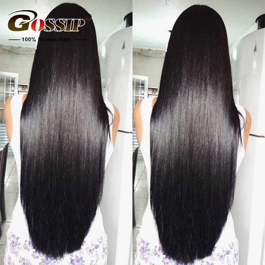 Peluca frontal de encaje recto 13x4 pelucas de cabello humano Remy pelucas de 180 densidad de encaje frontal pelucas de cabello humano para pelucas de pelo corto para mujeres negras disponibles