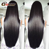 Straight Lace Front Wig Remy Human Hair Wigs 180 Density Lace Front Human Hair Wigs For Black Women Short Wigs Available