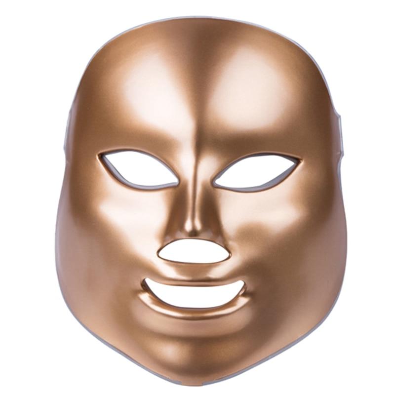 Korean Photodynamic Led Facial Mask Beauty Instrument Home Use Anti Acne Skin Rejuvenation Led Photodynamic Beauty Face Mask U Face Skin Care Machine     - title=