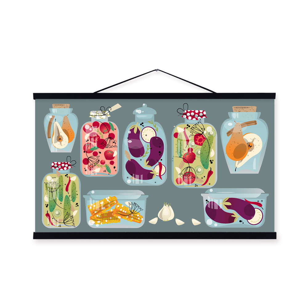 Frameless Modern Cartoon Chefs Canvas Prints Restaurant: Online Buy Wholesale Fast Foods Pictures From China Fast