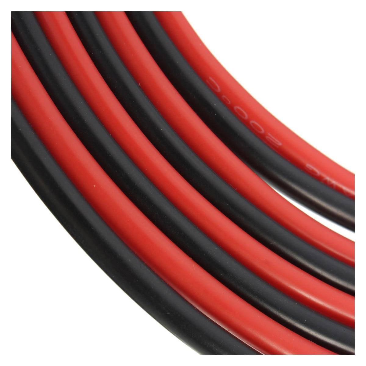 12 AWG 10 Fuß (3 mt) Gauge Silikon Draht Flexible Litze Kupfer Kabel ...