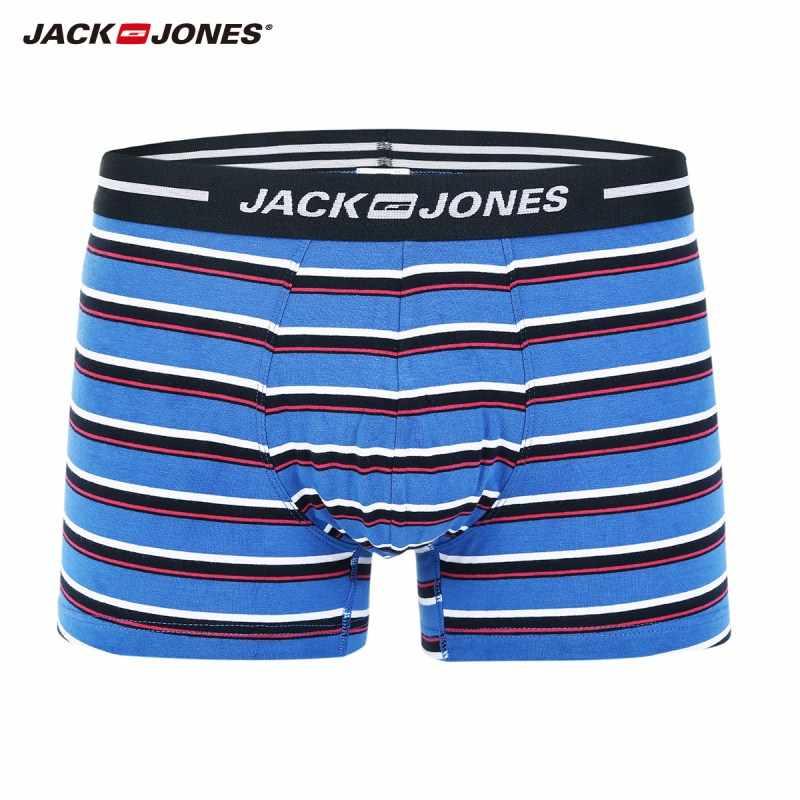JackJones мужские 3-Pack боксерские шорты нижнее белье мужские боксеры 2019 бренд Новая мода Мужская одежда 217392510