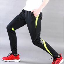 Football Training Running Pants Men fitness Futbol Jersey camisetas Sport Polyester Pants Tracksuit Cycling Trousers Leg Pants(China)