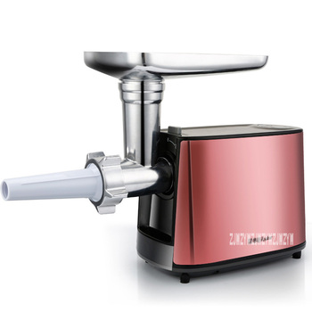 220V Fully Automatic Household Electric Meat Grinder Mincing Machine Stainless Steel Grinder Food Processor RS-JR08A 2