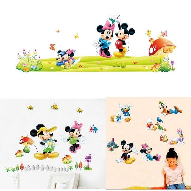 Neue Mickey Maus Minnie Maus wand aufkleber für kinder kindergarten ...