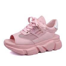 Sandals Shoes Women Breathable Height Platform Summer Open T