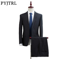 Jacket Pants New Men S Mens Suits Slim Business Suits Groom Wedding Men Suit