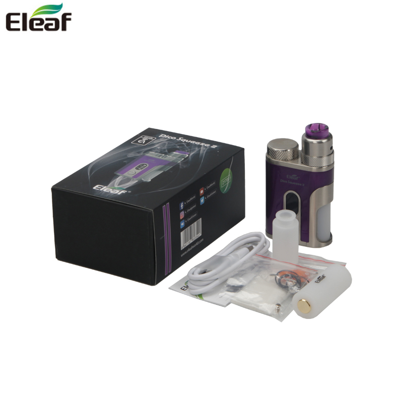 Kit Original Eleaf iStick Pico compression 2 boîte Mod Vape avec batterie AVB 21700 et corail 2 atomiseur cigarette électronique Vaper