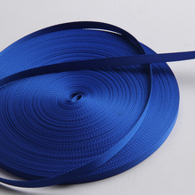 blue color twill nylon ribbon grosgrain tape 3/8 inch
