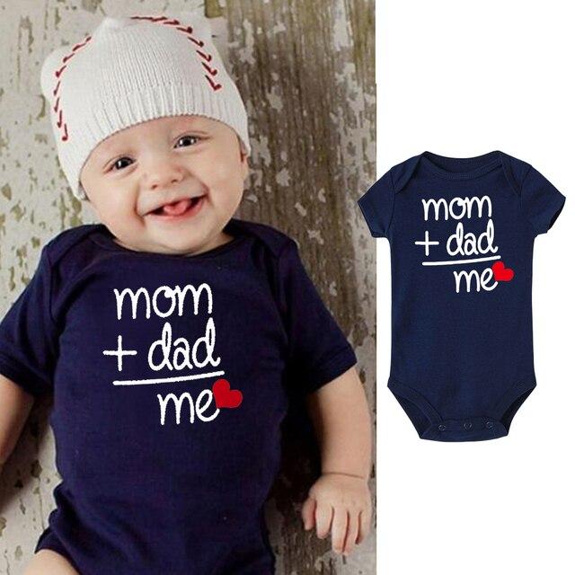 c241f6260026 Newborn Valentine s Day Shirt Baby Clothes Boy Girl Kids Cotton ...