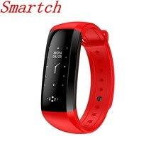 Smartch M2S умный Браслет крови Давление Часы Heart Rate Кислорода Монитор Смарт Браслет для верховой езды Рабочий режим 0.96 «oled Водонепроницаемый WR