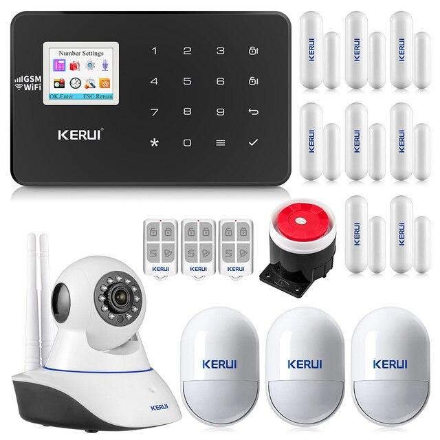 Corina W18 Wifi Gsm Alarmsysteem Auto Dial 6 Aangewezen Telefoon App Controle Aanpassen Bewegingsmelder Inbraakalarm