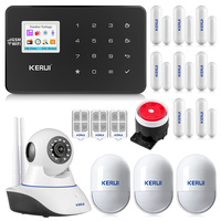 KERUI W18 WiFi GSM Wireless Alarm System Android IOS APP Control burglar alarm home AUTO Security Alarm Multiple language