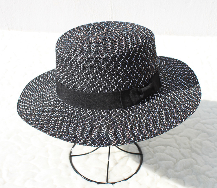 ... white New Flat Top Straw Hat jazz Hat Men Boater Hats Bone feminino.  undefined undefined undefined undefined undefined undefined undefined.  undefined 97b86cfed235