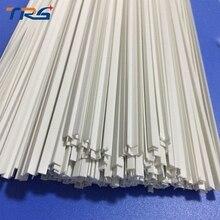 Масштаб ABS гладкая l-образная форма, специальная форма Диаметр 3,0*3,0 мм Длина 50 см бар для архитектурной модели макет материалы для изготовления