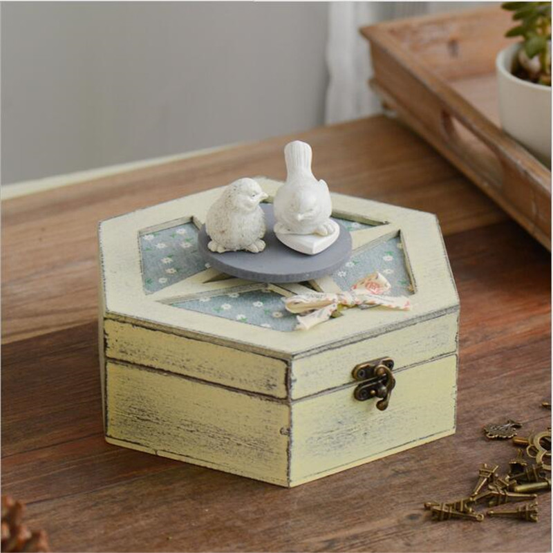 Home Decor Storage Boxes: Creative Home Decor Retro Crafts Storage Box Kid Toy Retro