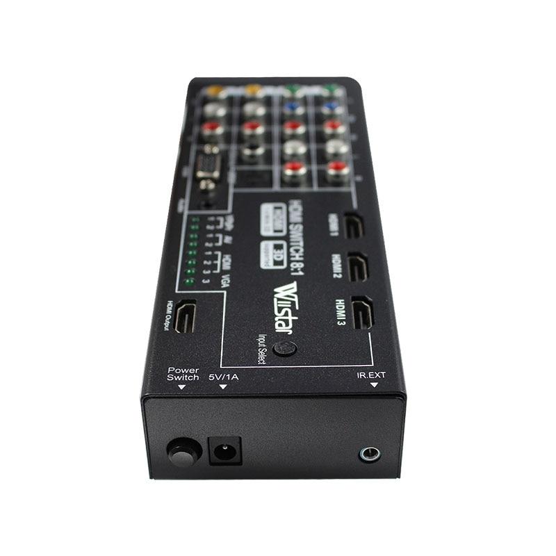 Wiistar цифров многофункционален HDMI - Сигурност и защита - Снимка 5