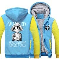 High Q Unisex ONE PIECE OP Luffy Roronoa Zoro Nami Hoodies Coat Jacket ONE PIECE Sanji