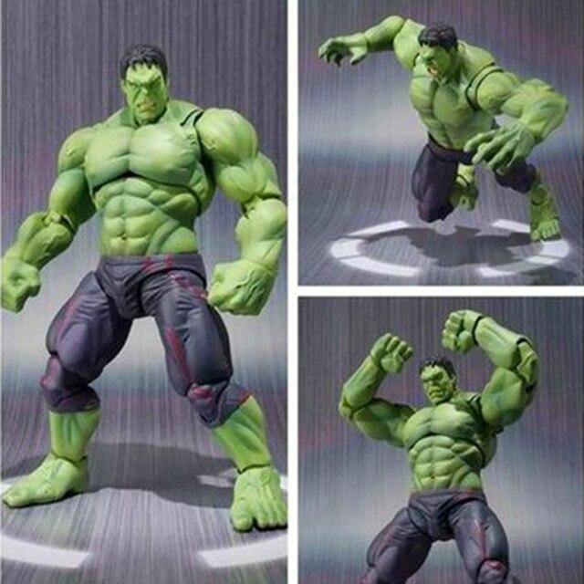 SHF Infinito Guerra Avengers Hulk Figura de Ação DO PVC S. H. Figuarts Toy Collectible Modelo brinquedos para crianças