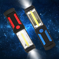 Super Bright  LED Flashlight Torch Work Stand Light Magnetic+HOOK Outdoors Camping Sport