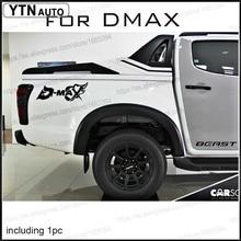 цена на free shipping 1PC MAX fire bone sticker decal vinyl off road 4x4 for isuzu dmax adventure mud