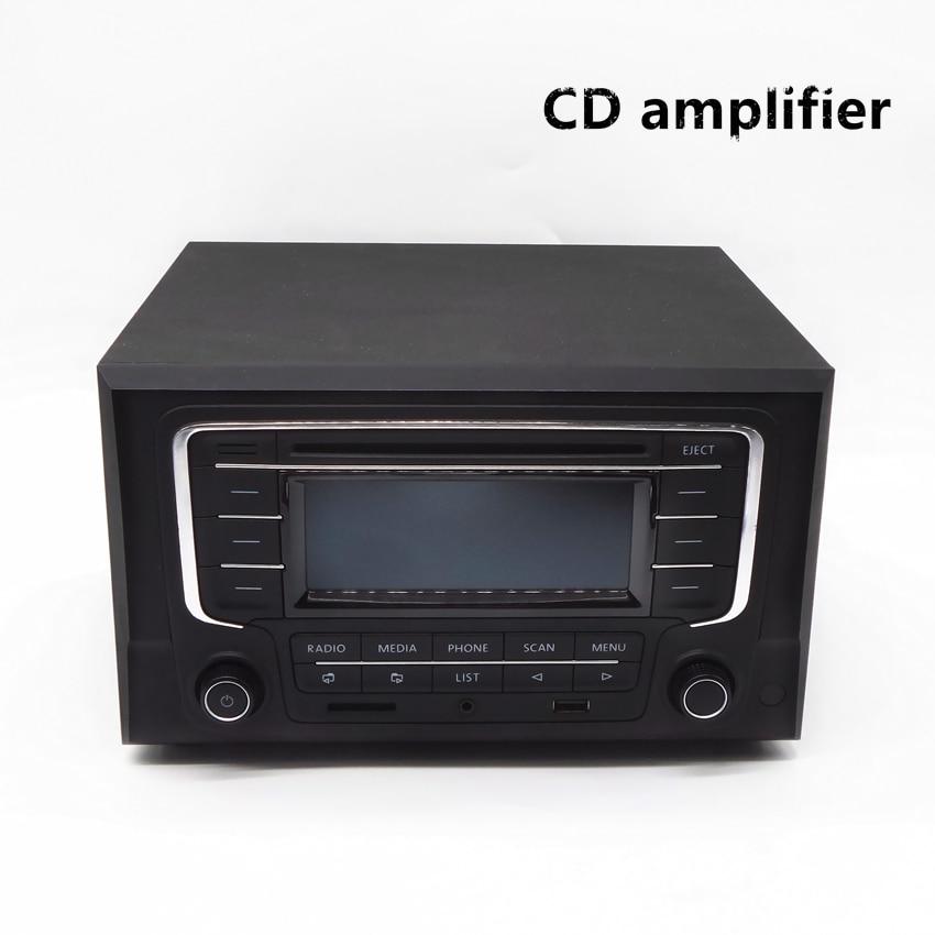 Lecteur CD de voiture à domicile amplificateur audio 4 canaux avec télécommande et fonction Bluetooth bonne qualité sonore