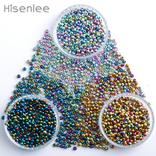 Hisenlee 2MM 3000pcs/pack 3pack/Lot Glass Seed Beads Multicolored Colors Lustered Round Spacer Beads DIY Jewelry Making