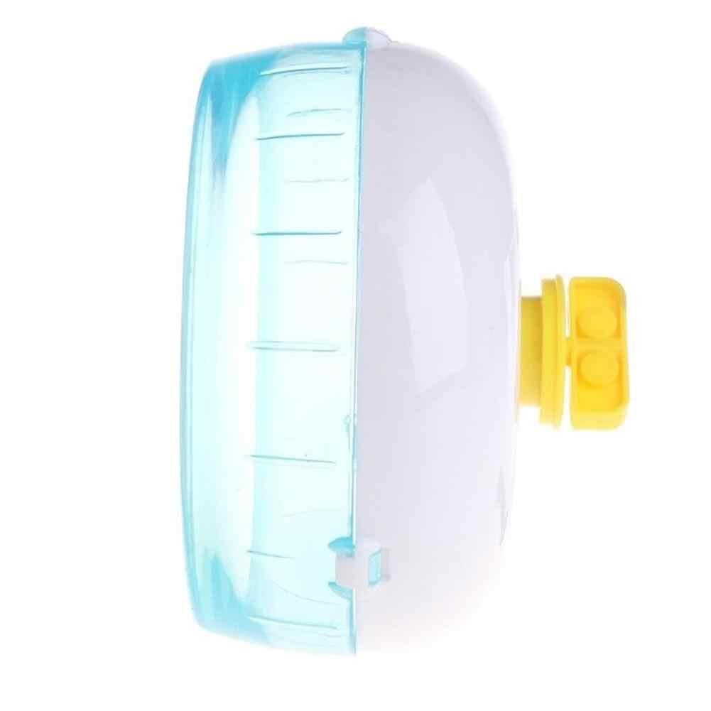 Adeeing Пластик крыса, хомяк Мышь упражнения игрушки бесшумный ход Spinner колеса ролик любимая игрушка