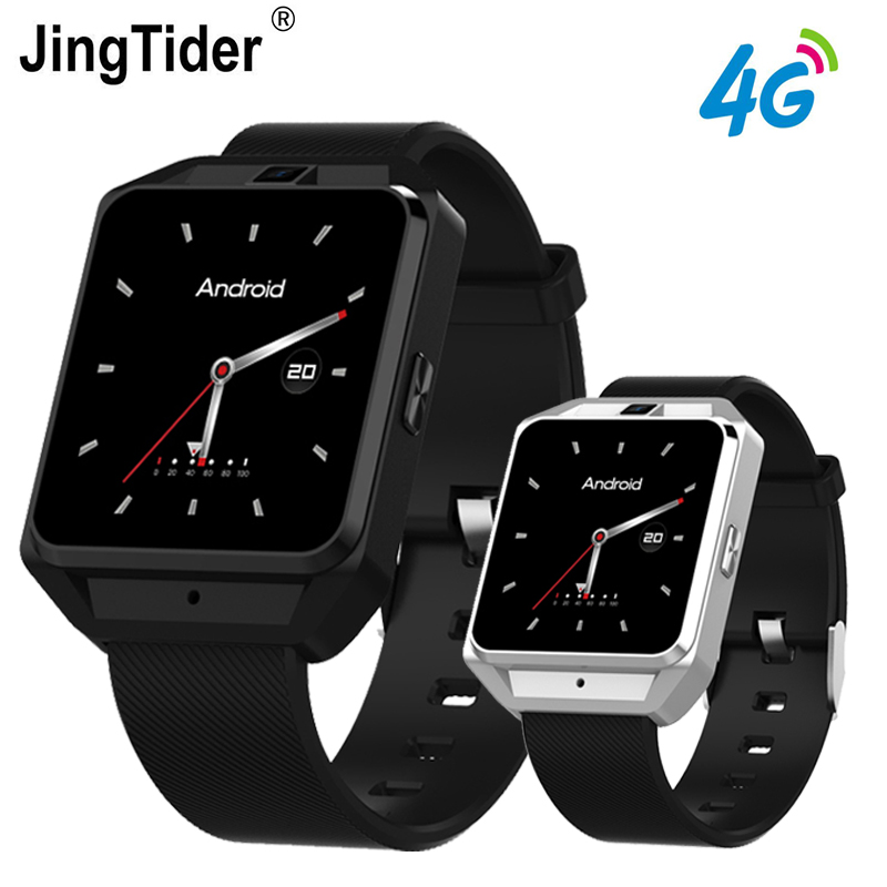 JT3 4G LTE Smart Watch MTK6737 Quad core 1GB 8GB Android Smartwatch 1 54 Heart Rate