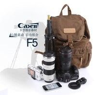 CADEN dslr caméra photo sac insérer lentille cas étanche national geographic vidéo fotografia double épaule sac à dos sac pack