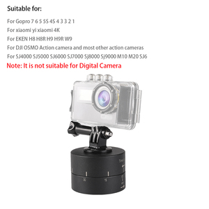 Image 5 - Automatic Go Pro Accessories 120 min Time Lapse Timer Tripod Head Photography Delay Tilt Head For Go pro 7 6 5 4 3 2 DJI OSMO
