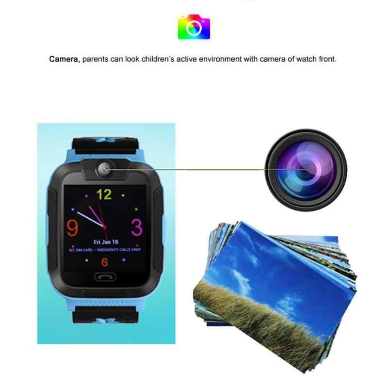 G76 3g умные часы для детей GPS SOS Детские умные часы сенсорный экран с камерой голосовой чат детские наручные часы