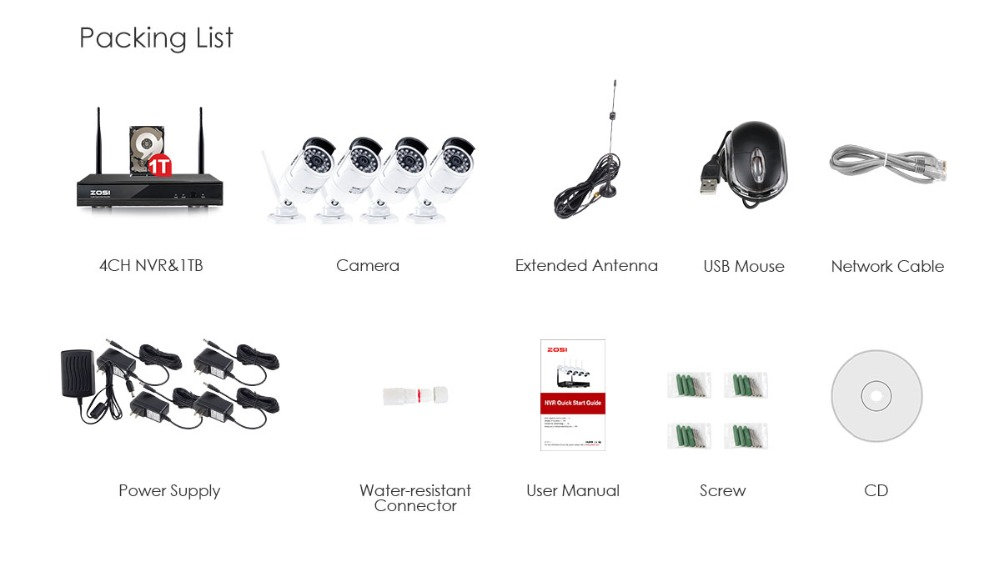 home camera system 1080P+NVR+1T_07