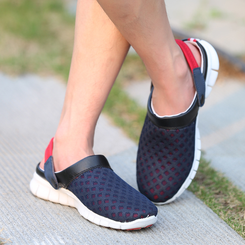 2017 Summer Unisex Lover Mesh Breathable Flat Heel Water Shoes Women Couples Beach Outdoor Sneaker Toning Travel Sports shoes