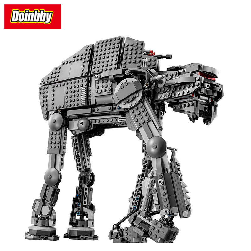 05130 Star Serie Wars Primo Ordine Heavy Assault Walker 1541 Pcs Building Block di Mattoni FAI DA TE Giocattoli Compatibile con Legoings05130 Star Serie Wars Primo Ordine Heavy Assault Walker 1541 Pcs Building Block di Mattoni FAI DA TE Giocattoli Compatibile con Legoings