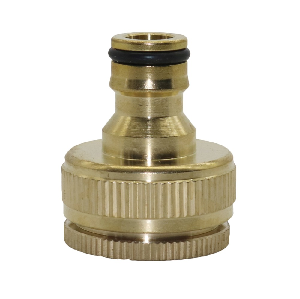 """HTB1uNuNXh2rK1RkSnhJq6ykdpXaD 1/2"""",3/4"""",1"""" Thread Brass Quick connector Agriculture tools Garden Watering Adapter Durable Joint Drip Irrigation Fittings 1 Pcs"""