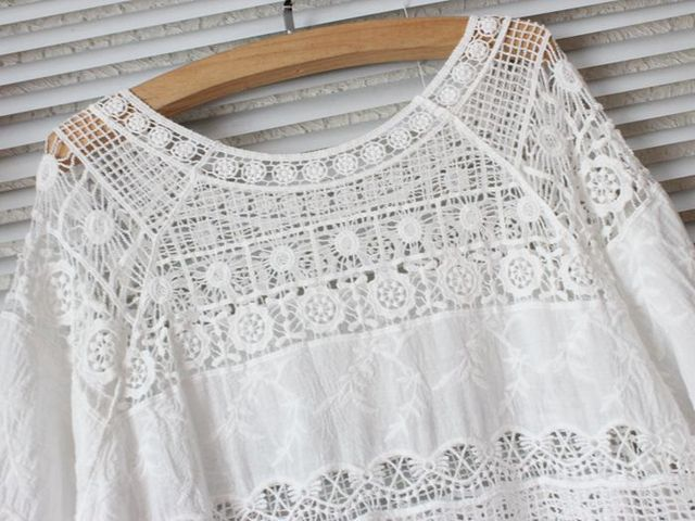 2020 Summer Lace Womens Tops and Blouses Camisa Feminina Blusa Mujer Chemise Femme Korean Blouse Shirt Women Sun Protection Hot 4
