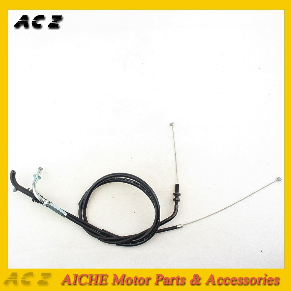ACZ Motorcycle Replacement Throttle Cable Line Emergency Throttle Cable Wire Line For Kawasaki ZXR250 ZXR400 ZXR 250 ZXR 400 image