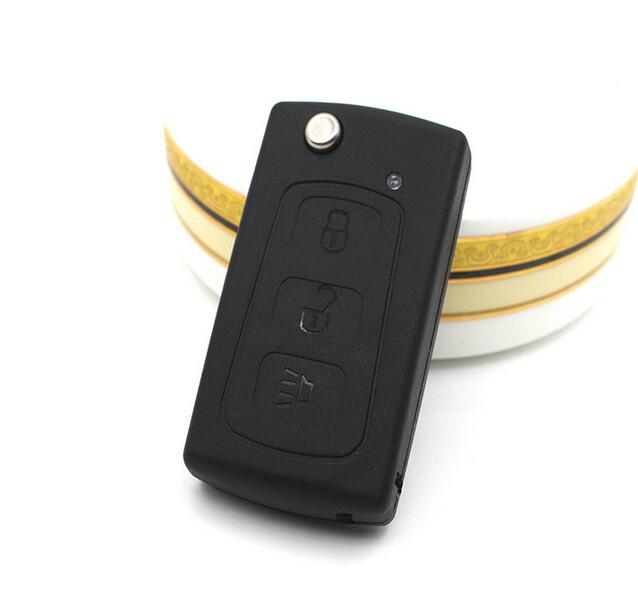 3 Buttons Replacement Flip Folding Remote Key Case Shell For Great Wall Hover Haval H3 H5 Keyless Entry Fob Key Cover