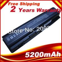 5200mAh Battery for HP Pavilion DV4 DV5 DV6 G71 G50 G60 G61 G70 DV6 DV5T HSTNN-IB72 HSTNN-LB72 HSTNN-LB73 HSTNN-UB72 HSTNN-UB73 аккумулятор topon top dv5 10 8v 4800mah для hp pn 462890 541 462890 761 hstnn cb72 hstnn xb72 hstnn xb73 ks524aa