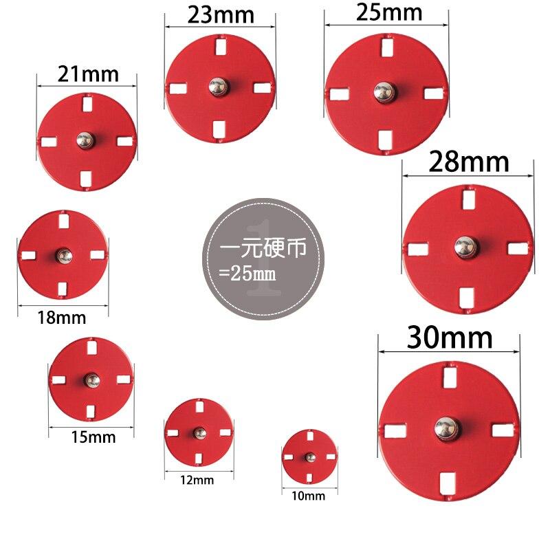 10 Botones de Conejo de Madera Color Mezclado 28mm