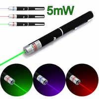 5MW Alta Potência Poderosa Caneta Ponteiro Laser Mira Laser Verde Azul Vermelho Dispositivo de Laser de Caça Ferramenta de Sobrevivência de Primeiros Socorros feixe de Luz