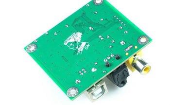 цена на Hi-Fi CM6631A 192KHZ to Coaxial Optical SPDIF Convertor DAC Board 24bit USB 2.0