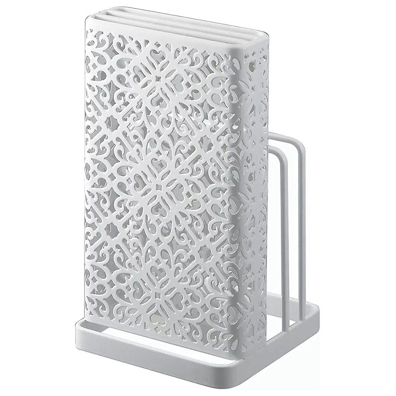 Knife Rack Creative Storage Rack Tool Metal Knife Holder Knife Stand Block Holder Kitchen Holder