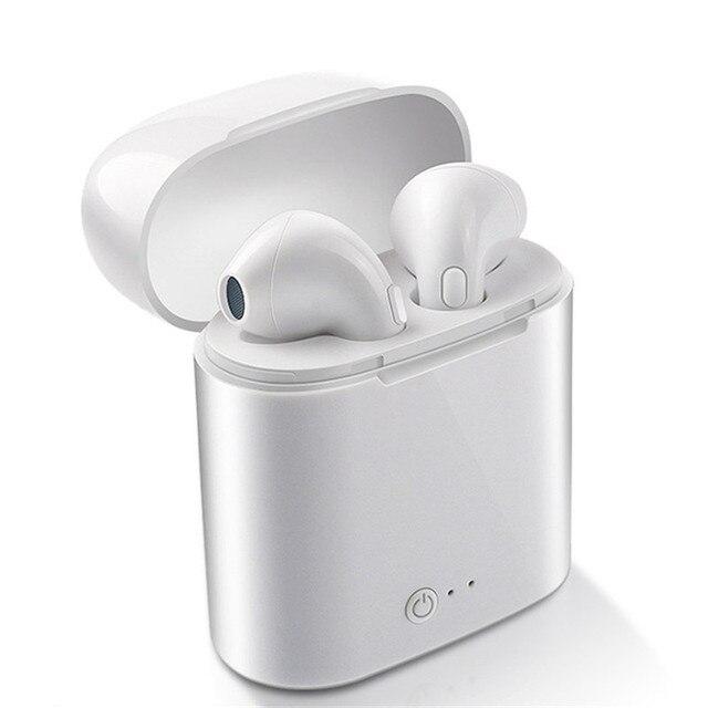 i7s TWS Wireless Earpiece Bluetooth Earphones I7 sport Earbuds Headset With Mic For smart Phone iPhone Xiaomi Samsung Huawei LG