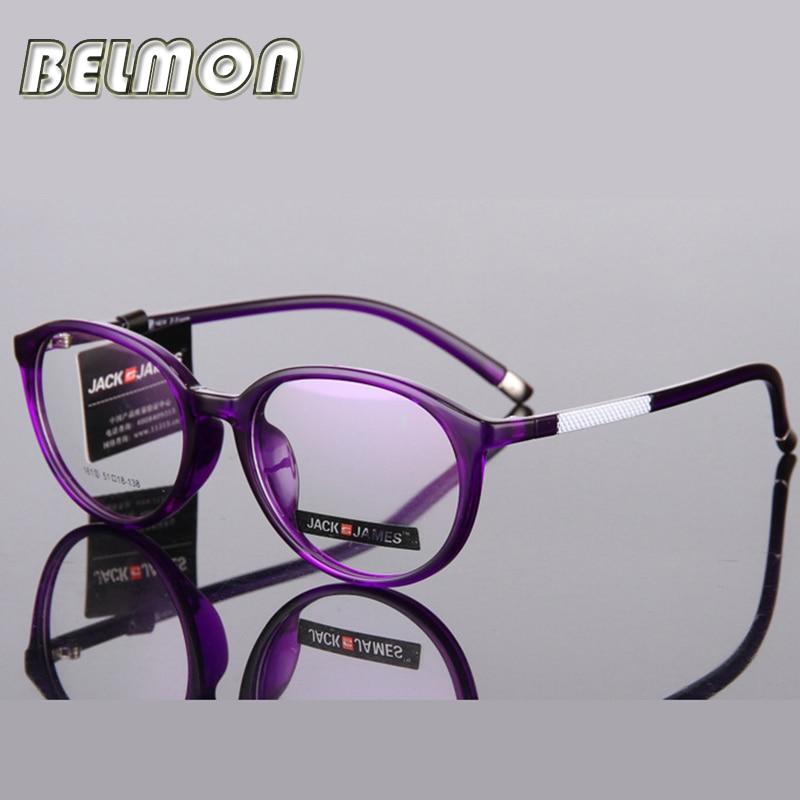 სათვალეების ჩარჩო ქალთა რთველი კომპიუტერული ოპტიკური სათვალეები ქალთა გამჭვირვალე ქალის Armacao de RS285