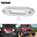 4000lbs Universal Hawse Aluminum Fairlead For Use With Synthetic Winch Rope For Long-lasting Use On And Off-road Adventures