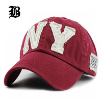 Wholesale Spring Fashion Cotton Baseball Cap Snapback Sun Hat For Men Women Men S Visors Bone