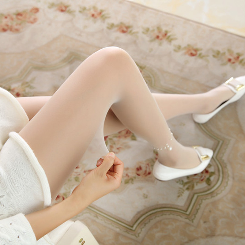5pcs/Lot Summer Nylon Women Tights Ankle Pearl Necklace Sexy Silk Stockings For Woman Pantyhose Female Collant Hosiery